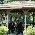 Dixie Diehards perform at Beech Tree Park in Sharon, MA